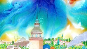 Nazan Erkmen'in Kız Kulesi Efsanesi illüstrasyonu