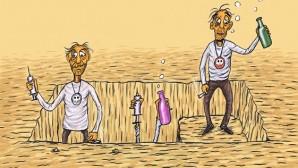 Yeşilay Karikatür Yarışması'nın Büyük Ödül Sahibi Türkiye'den…