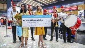 istanbul Havalimanı 57 günde 10 milyon yolcu ağırladı