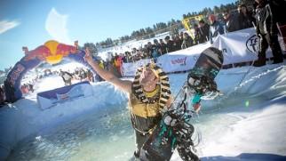 Erciyes'te çılgın yarışma