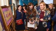 Yunus Emre kursiyerlerinden Tiflis'te sergi
